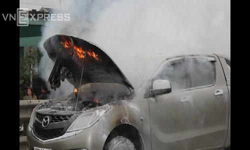 Cháy xe