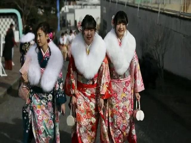 Lễ trưởng thành đánh dấu tuổi 20 tươi đẹp của người Nhật Bản