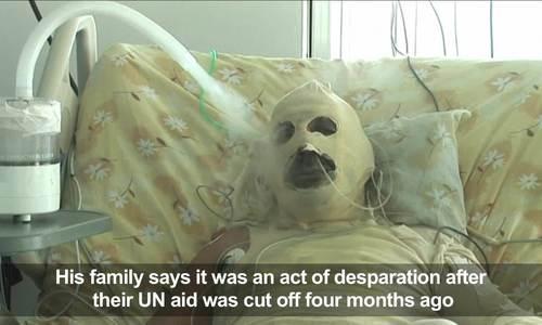 Người tị nạn Syria tự thiêu trước văn phòng Liên Hợp Quốc