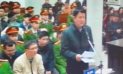 Ông Đinh La Thăng: Dù mức án nào cũng chấp nhận