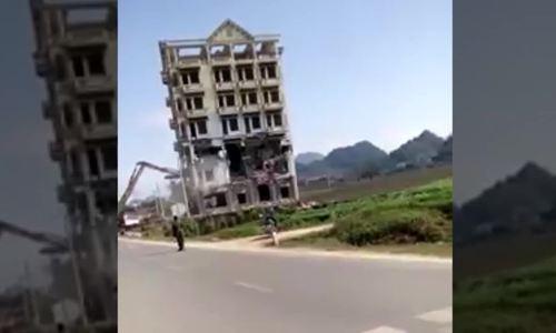Phá dỡ tòa nhà 7 tầng của chùm ma túy Tàng 'KeangNam'