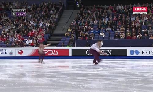 Cặp vận đông viên Triều Tiên biểu diễn tại Phần Lan