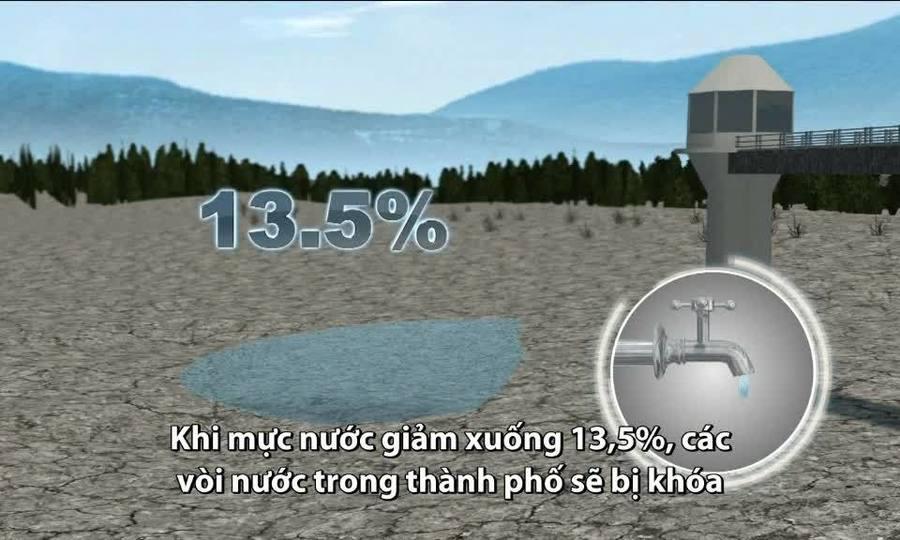 Thành phố Nam Phi sắp cạn kiệt nước trong 90 ngày tới