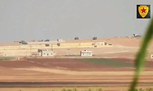 YPG tấn công xe tăng Thổ Nhĩ Kỳ