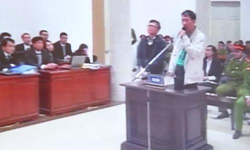 Trịnh Xuân Thanh chất vấn tại tòa