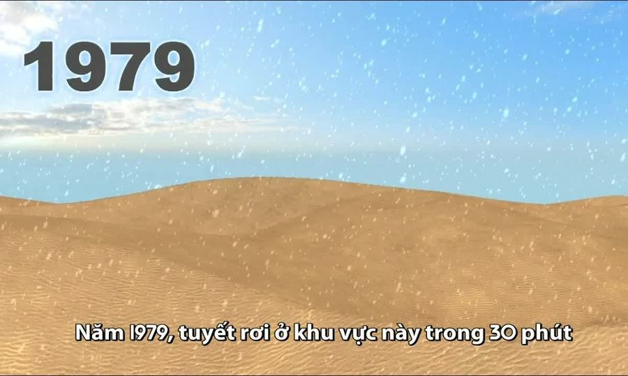 Nguyên nhân tuyết rơi thường xuyên hơn trên sa mạc Sahara