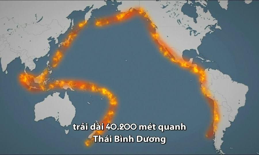 Vành đai lửa Thái Bình Dương đang hoạt động mạnh trở lại