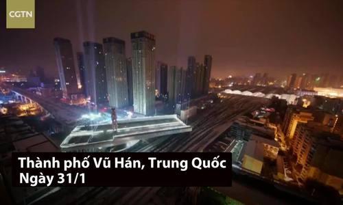 Xoay đoạn đường trên cao nặng 8.800 tấn, Trung Quốc lập kỷ lục thế giới