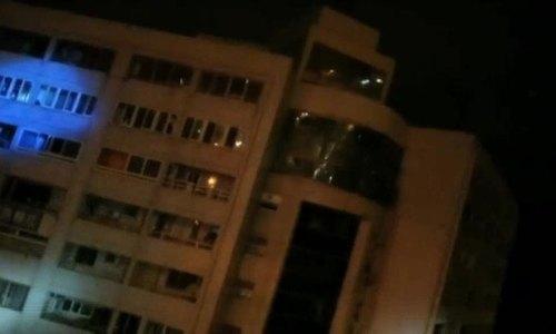 Khách sạn đổ nghiêng sau động đất ở Đài Loan