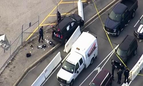 Nổ súng ở trụ sở cơ quan an ninh Mỹ, một nghi phạm bị bắt - ảnh 1