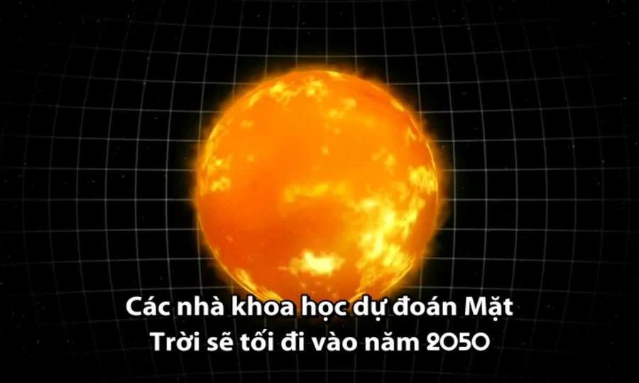 Mặt Trời sẽ lạnh và tối hơn vào năm 2050