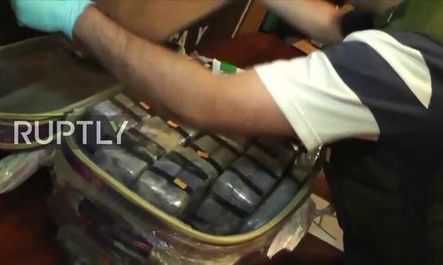 Phát hiện gần 400 kg cocain tại đại sứ quán Nga ở Argentina