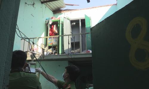 4 người bị thương nặng trong vụ nổ hầm nhà vệ sinh