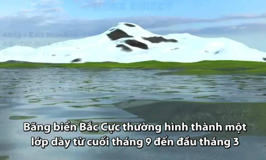 Bắc Cực trải qua mùa đông ấm bất thường