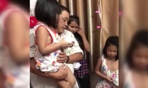 Giải cứu bé gái bắt cóc đòi tiền chuộc