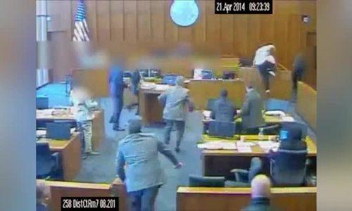 Tội phạm Mỹ tấn công nhân chứng ở tòa bị bắn chết