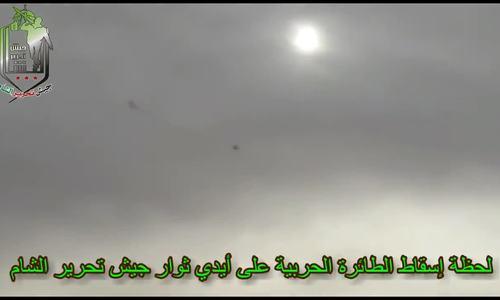 Phiến quân bắn hạ cường kích Su-24 Syria