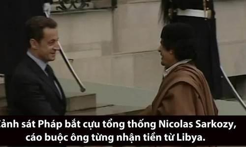 Mối quan hệ 'cơm chẳng lành' giữa cựu tổng thống Pháp và cố lãnh đạo Libya