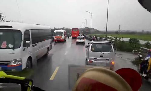 Lộ trình xe cứu hỏa trước khi xảy ra tai nạn