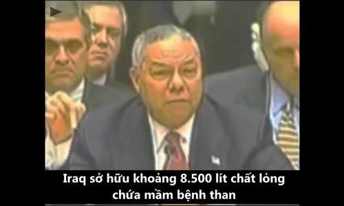 15 năm chiến tranh vì vũ khí hủy diệt không có thực ở Iraq