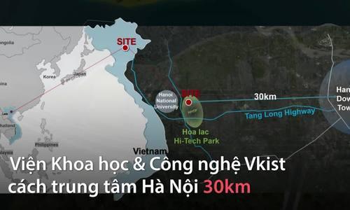Tổng thống Hàn Quốc động thổ dự án Vkist rộng 80.000m2