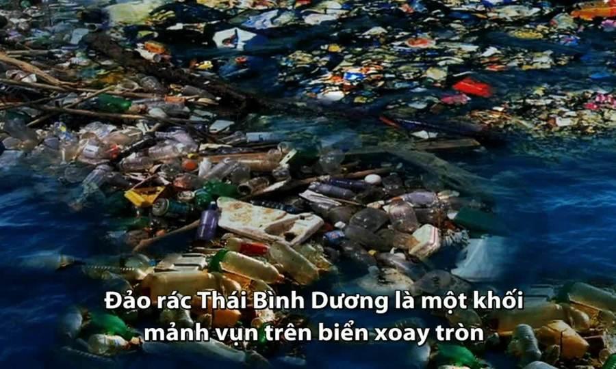 Bãi rác lớn nhất thế giới ở xoáy nước Thái Bình Dương