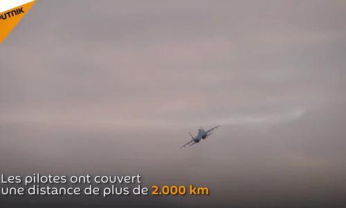 Su-35S Nga diễn tập đánh chặn tại đảo tranh chấp với Nhật