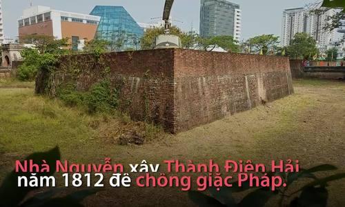 Thành lũy chống Pháp đầu tiên được tôn tạo ở Đà Nẵng