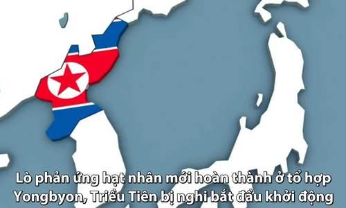Triều Tiên bị nghi khởi động lò phản ứng hạt nhân mới