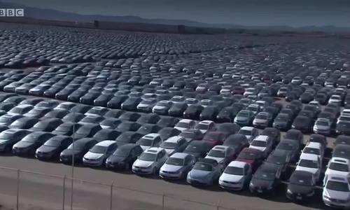 'Nghĩa địa' ôtô Volkswagen ở Mỹ