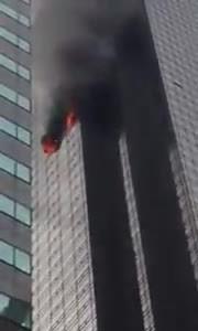 Báo động cháy cấp 4 tại Tháp Trump ở New York