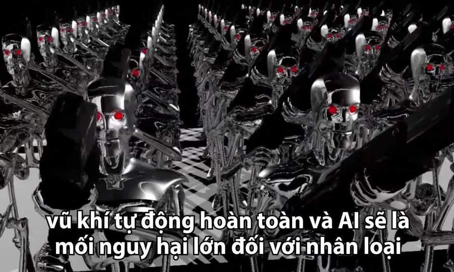 Nguy cơ robot sát thủ hủy hoại nhân loại