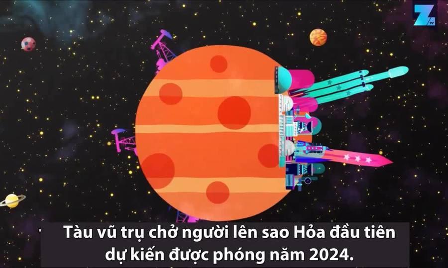 Kế hoạch biến sao Hỏa thành căn cứ vũ trụ của con người