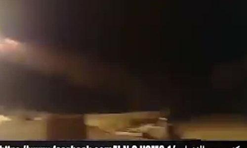 Lính phòng không Syria vừa nghe nhạc vừa phóng đạn chặn tên lửa Mỹ