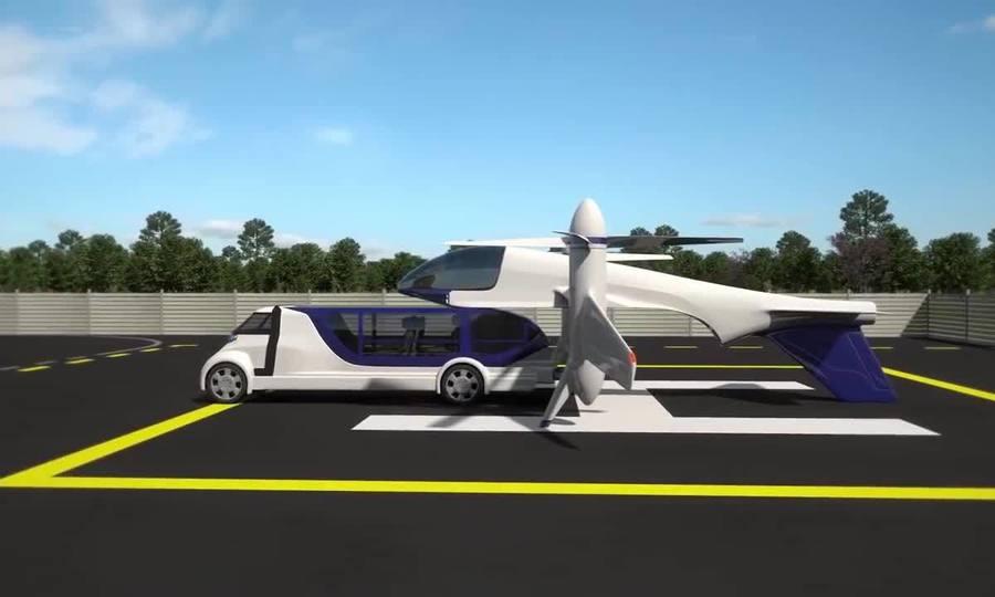 Taxi bay kết hợp giao thông đường bộ và đường hàng không