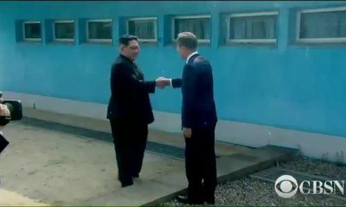 Lãnh đạo Hàn - Triều gặp nhau ở đường ranh giới