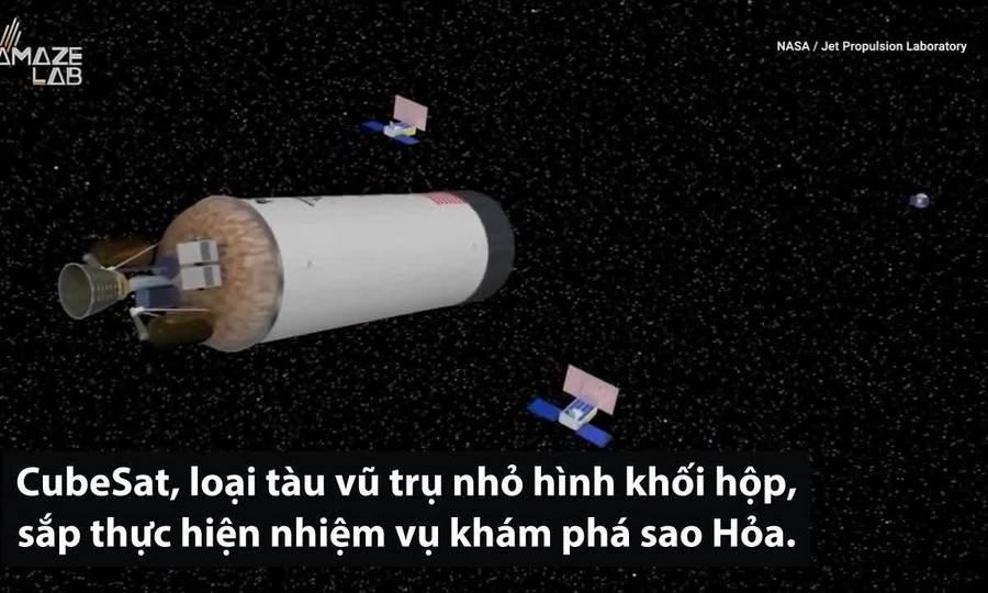 Bộ đôi tàu vũ trụ NASA sắp khám phá sao Hỏa