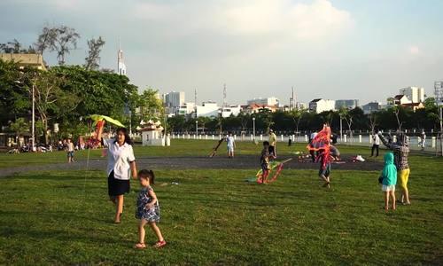 Cánh đồng diều nội thành Sài Gòn
