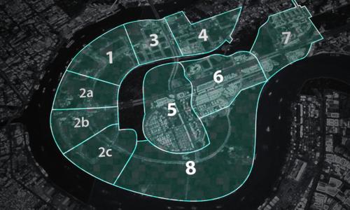 Những phát ngôn về việc có hay không bản đồ quy hoạch đô thị Thủ Thiêm