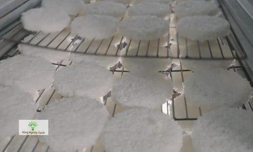 Trà Vinh cung ứng 100 tấn cơm cháy trà bông cho trị trường