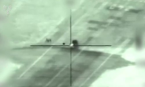 Khoảnh khắc tên lửa Israel phá hủy tổ hợp phòng không Pantsir-S1 Syria