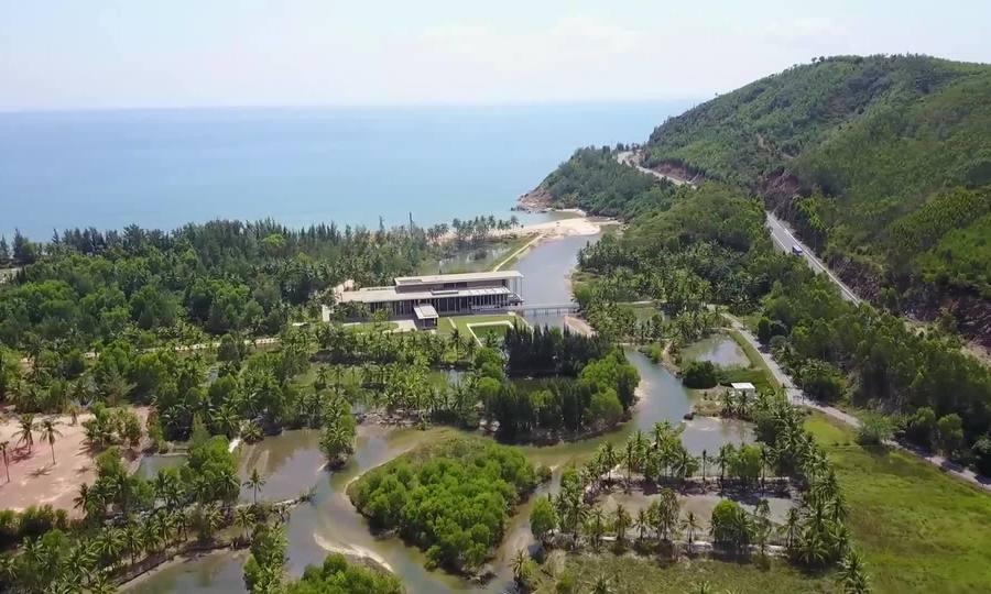 Trung tâm giáo dục quốc tế ở Bình Định gần gủi với thiên nhiên