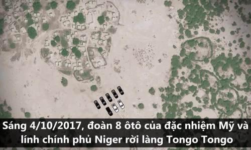 Diễn biến trận đánh không cân sức giữa đặc nhiệm Mỹ và phiến quân Niger