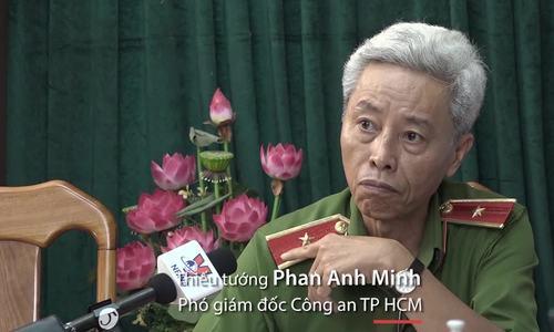 Lãnh đạo Công an TP HCM: 'Người dân cần phối hợp với công an phòng chống tội phạm''