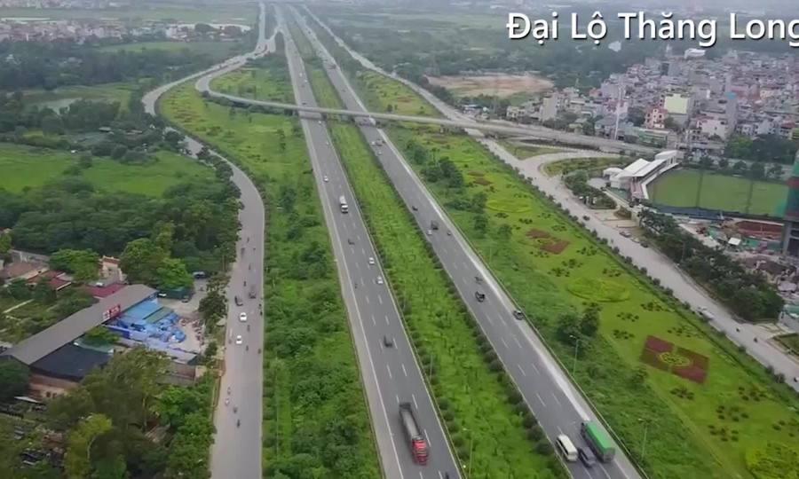 8 tuyến đường và cầu cửa ngõ ở Hà Nội sau 10 năm mở rộng