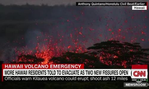 Chuyên gia cảnh báo đợt phun trào lớn ở núi lửa Hawaii