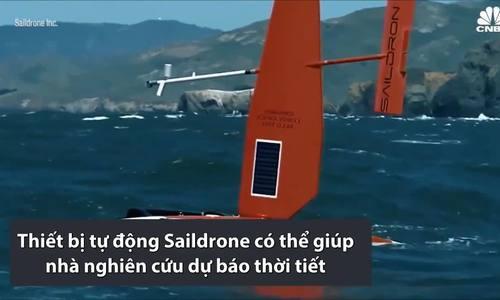 Thiết bị tự động trên biển giúp dự báo thời tiết