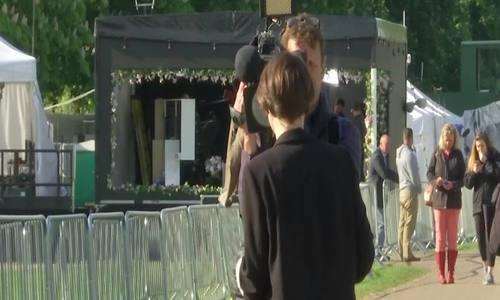 Truyền thông chuẩn bị đưa tin đám cưới hoàng gia Anh
