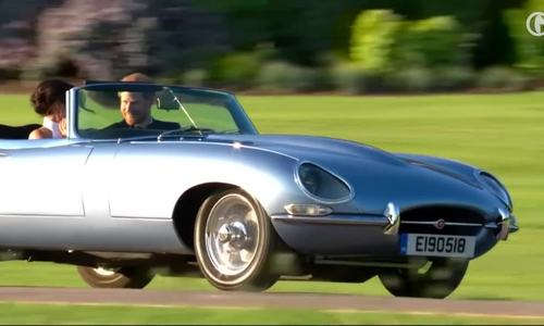 Jaguar mui trần hàng 'độc' - thông điệp vì môi trường của Hoàng tử Anh