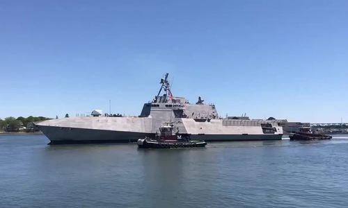Mỹ biên chế nữ hạm trưởng cho tàu chiến đấu ven biển tối tân